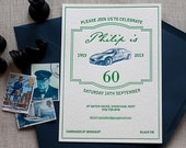 Aston Martin - 60th Birthday Invitation (min. 50 qty)