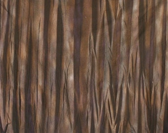 222 - Black airbrushed cotton fabric