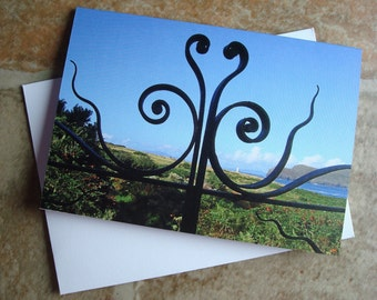 Valentia View Irish Photography Greetings Card Irish Blank Card