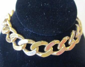 Vintage Gold Tone MONET Bracelet