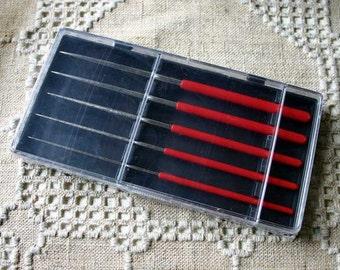 5pcs Tool Set Beading Awl 4mm 3.5mm 3mm 2.5mm 2mm 5-3/4x3x3/4in