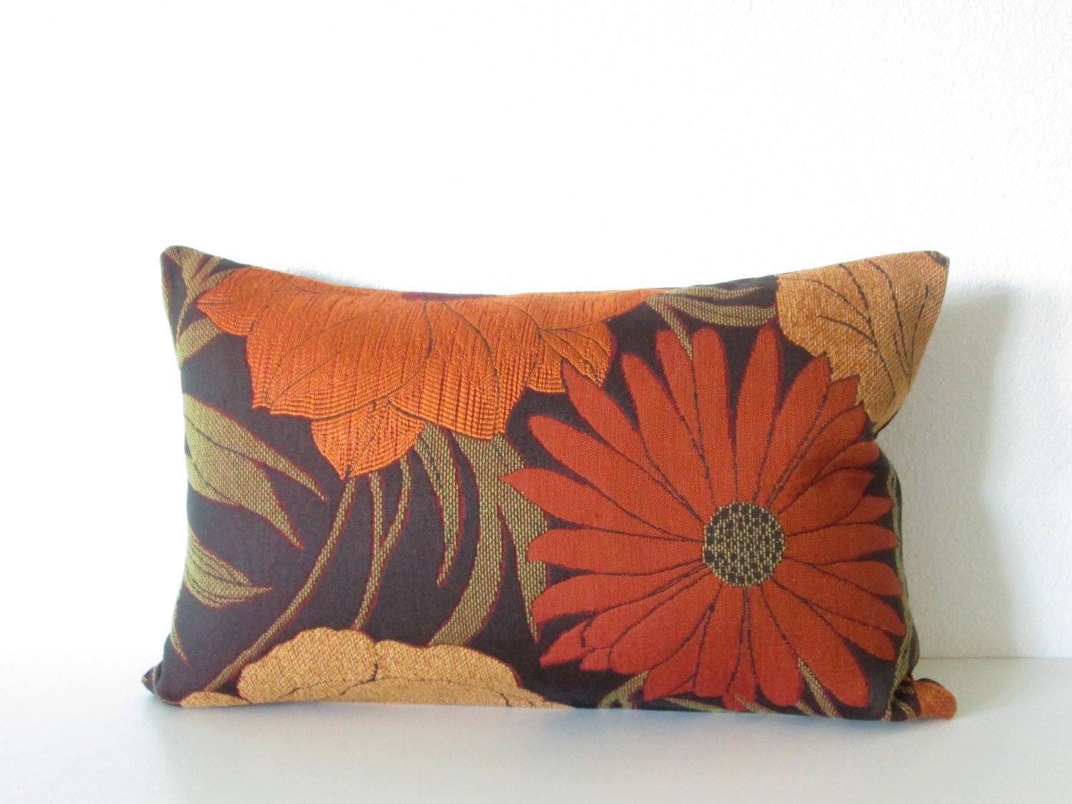 Decorative Orange Lumbar Pillow : CraftLaunch Site Inactive