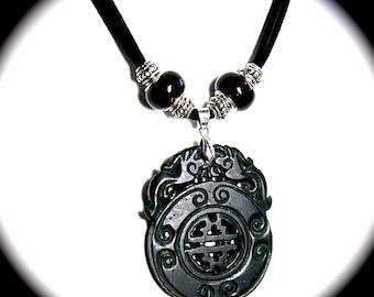 Jade Talisman Necklace