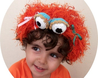 Zoe(Inspired)  headband-Sesame Street Zoe inspired Headband-Sesame Street Zoe Ballerina Princess-sesame street characters
