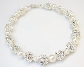 Swarovski bracelet, rhinestone bridal bracelet, crystal, sparkle, wedding jewelry, pearl