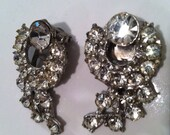 Set of 2 SPARKLING Authentic Original Old Pretty 1930s Antique SHOE Clip Tasteful Luxury Sparkles wow Authentic Vintage jewelry Accessory