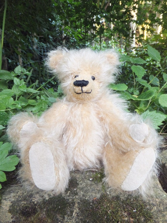 Miniature Mohair Teddy Bear - OOAK Handmade Jointed: Romeo