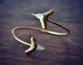 SHARK TOOTH WRAP ///Gold or Silver