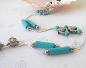 Eyeglasses Chain , Hamsa, Hand, Eyeglasses Holder, Sunglasses Chain, Turquoise Reading Glasses Holder, Gift For Her, Holiday Gift