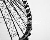 Seattle- Ferris Wheel- Fine Art Photography