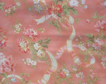 SALE : Robyn Pandolph Sentimental Journey ribbons roses SSI fabrics FQ or more