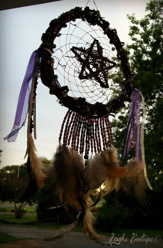 Mystic Dreamer Pentacle Dreamcatcher