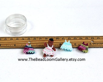 Dollhouse Miniature Doll with Clothes