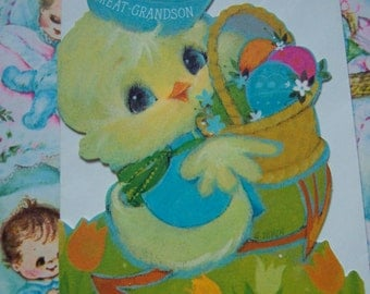 for a great grandson easter card