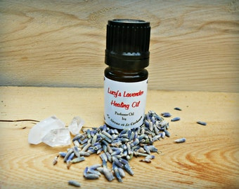Lucy's Lavender Healing Hand Pressed Ritual Fragrance Oil