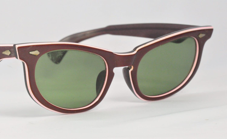 Vintage American Optical Sunglasses 54