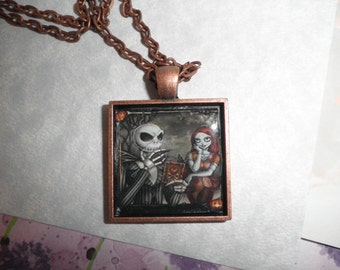 Jack With His Girlfriend Necklace