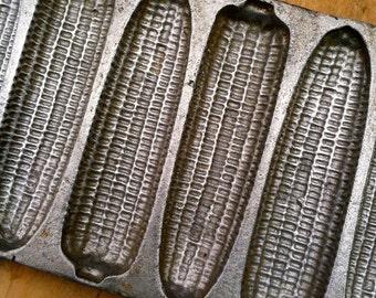 Vintage Cast Aluminum Corn Stick Pan