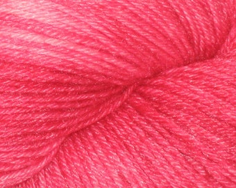 Rose Red Kettle Dyed BlueBoo Yarn