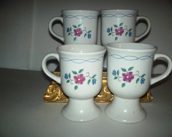 vintages coffe mugs