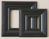 Picture Frame / Tuscan Black  / Whistler Style / Sizes 4x4 to 8x8