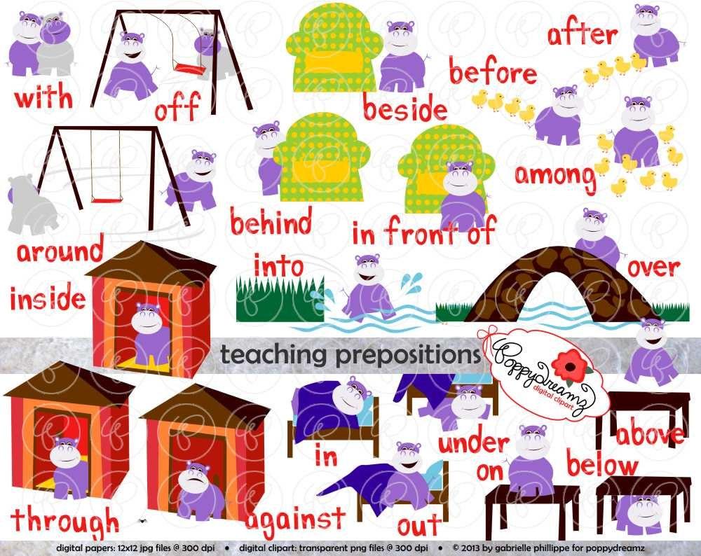 Worksheet Reading Flashcards flashcards etsy teaching prepositions clipart digital image set 300 dpi school teacher clip art reading grammar hippo