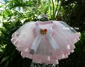 Ribbon Trimmed Tutu - Perfect for Birthdays, Cake Smash, Dance, Photo Sessions, Weddings