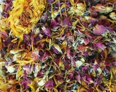 Flower Offerings for The Goddess.  Flower Petal Blend