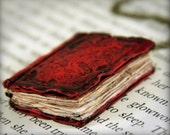 Beloved Book Locket - Pendant Necklace - Jewelry - Handmade - Art Jewelry