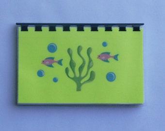 "Handmade ""Seafood"" Blank Recipe Book"