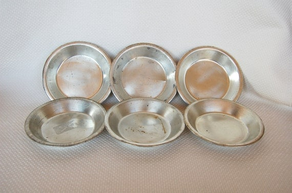 Set Of 6 Mini Pie Pans Tart Pans Individual Pot Pie Pans 6