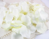 Ivory Silk Rose Petals Cream Off White Wedding Aisle Decor Crafts Floral Supplies 225 Pieces