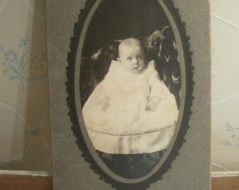 Victorian Baby Photograph