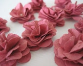 Handmade Mini Paper Flowers Primrose Pink