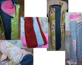 Upcycled Unique Eco Yoga Mat Bags - Wholesale Lot Free Shipping