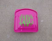 Monogram Sandwich Box - Asst Colors