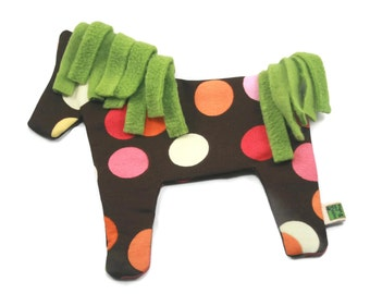Dog Toy No Stuffing No Squeaker Horse