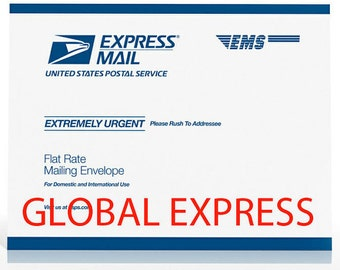 Global Express Mail Shipping Upgrade for  International Customers