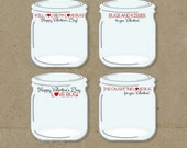 Love Bug Valentines Day Cards - DIY INSTANT DOWNLOAD - 4 Different Sayings