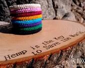Indie Hemp Works, Hemp Bracelet, Hemp Bracelets, Hemp Anklet, Hemp Anklets, Hemp Jewelry, Aromatherapy, Bracelets, Handmade, Hippie, Fashion