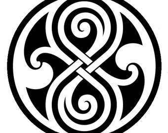 Seal of Rassilon - Doctor Who - Vinyl Sticker Decal