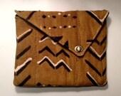 Mud Cloth iPad Case/Clutch
