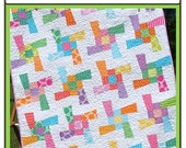PDF Quilt pattern Windy Monday Baby Quilt-Charm Friendly