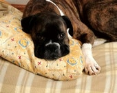 Aaahhh  Aromatherapy CALMING LAVENDER Dog Pillow and Toy
