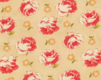Honeysweet - Brocade in Biscuit by Fig Tree & Co for Moda Fabrics