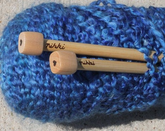 Personalized Knitting Needles - Custom Knitting Gift