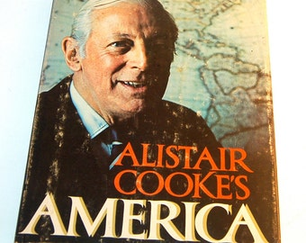 Alistair Cook's Book AMERICA, Large, Slightly Heavy, Full of  Brilliance & Humor