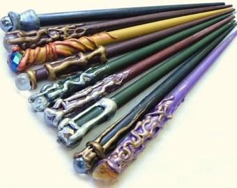 Magical Wooden Hair Stick