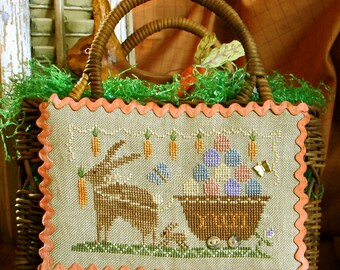 Delivering Yummy Goodness~Cross Stitch Pattern