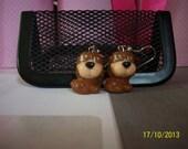 Disney Squinkies Earrings - Cinderella - Bruno